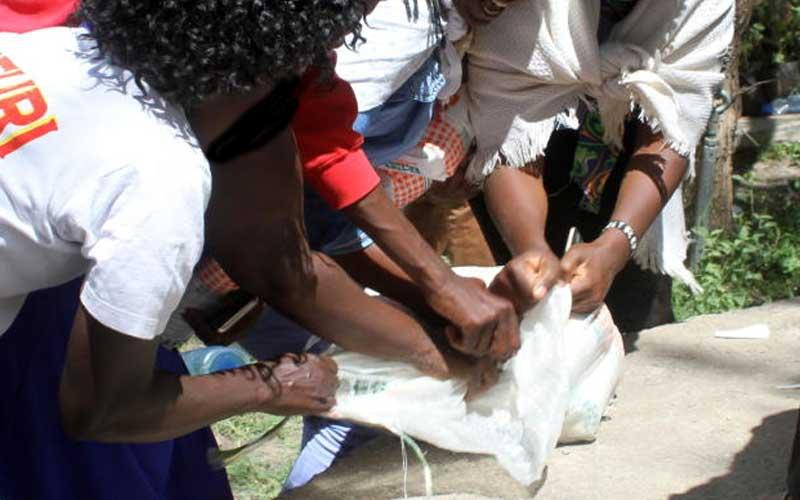 Kajiado stampede: Dozens injured in scramble for donated food