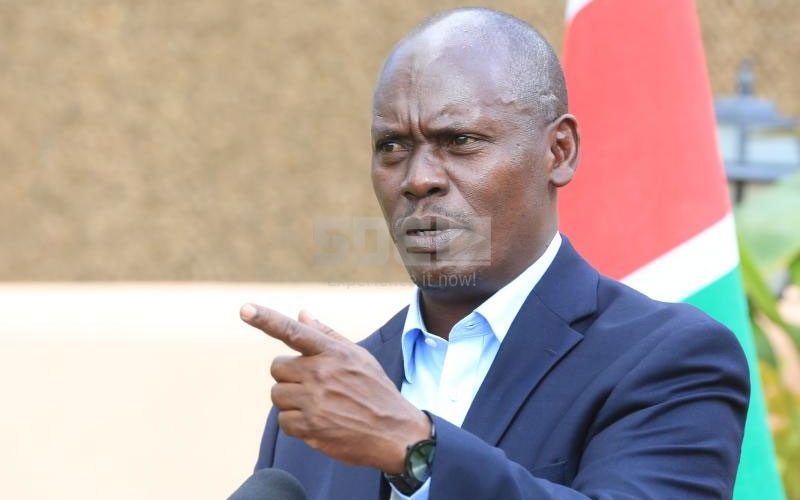Sh100 million: Trader to auction Kabogo's property to pay fine
