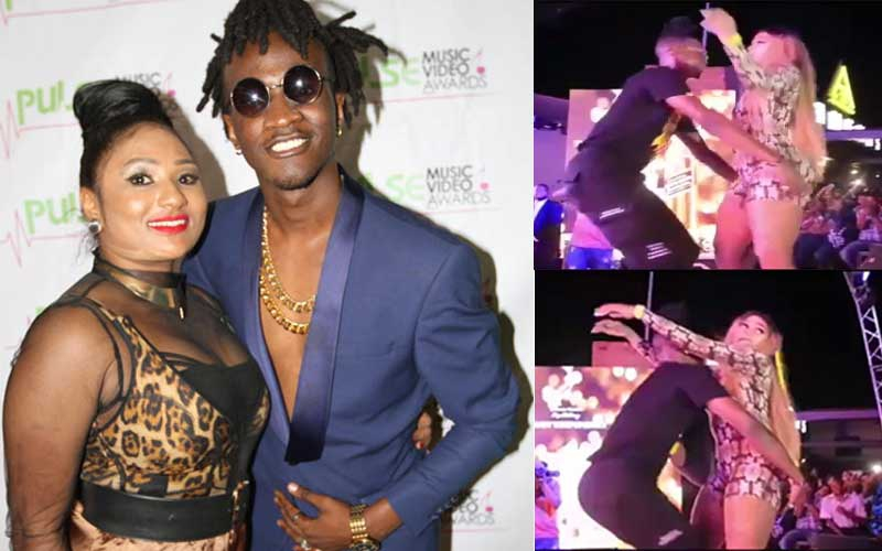 Socialite Gigy Money under fire for dirty-dancing with married singer