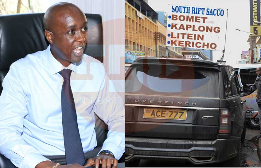 SportPesa CEO Ronald Karauri's Range Rover 'operating as matatu'