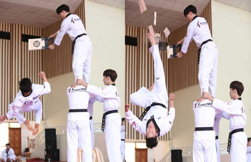 Students to learn taekwondo, so they can teach 'kiriminos' a lesson