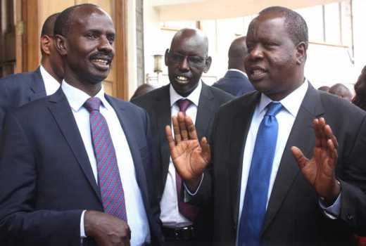 The new curriculum is on course: Matiang'i dismisses reports 2-6-6-3 is hanging by a thread