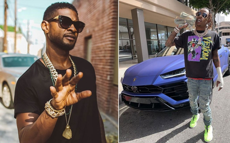 Usher, Rich the Kid's entourage 'robbed and pistol whipped'