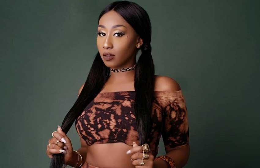 Victoria Kimani says she is glad she does not understand Swahili