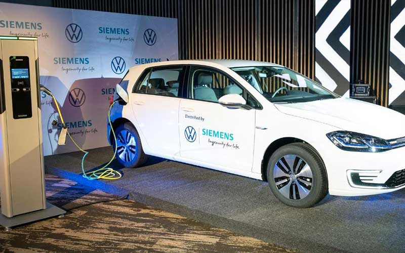 Volkswagen brings electric cars to Rwanda for ride-hailing service