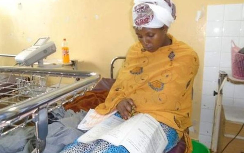 Strength of a woman: Mum sits exam 30 minutes after giving birth