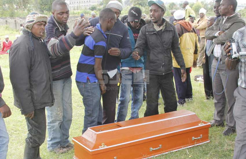 Youth disrupt burial over church's refusal to take ill man to hospital