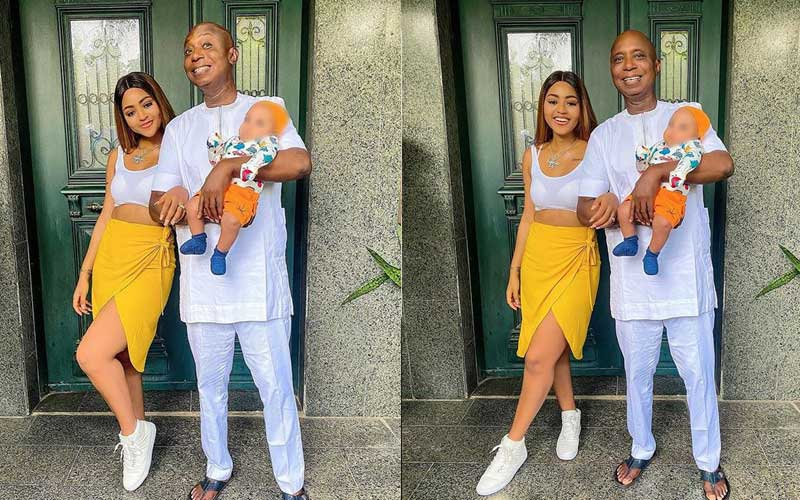 Trouble? Nollywood's Regina Daniels, billionaire hubby unfollow each other on Instagram