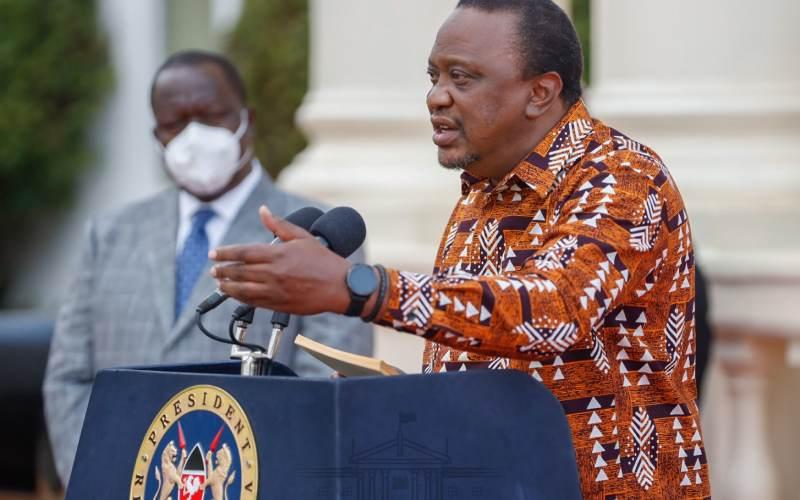 Uhuru speaks on reopening of bars