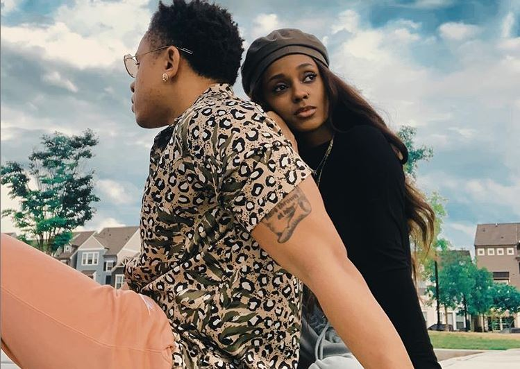 Vanessa Mdee and Rotimi get matching tattoos of each other's names