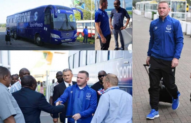 Wayne Rooney takes over social media as he gears up to face Gor Mahia in Tanzania