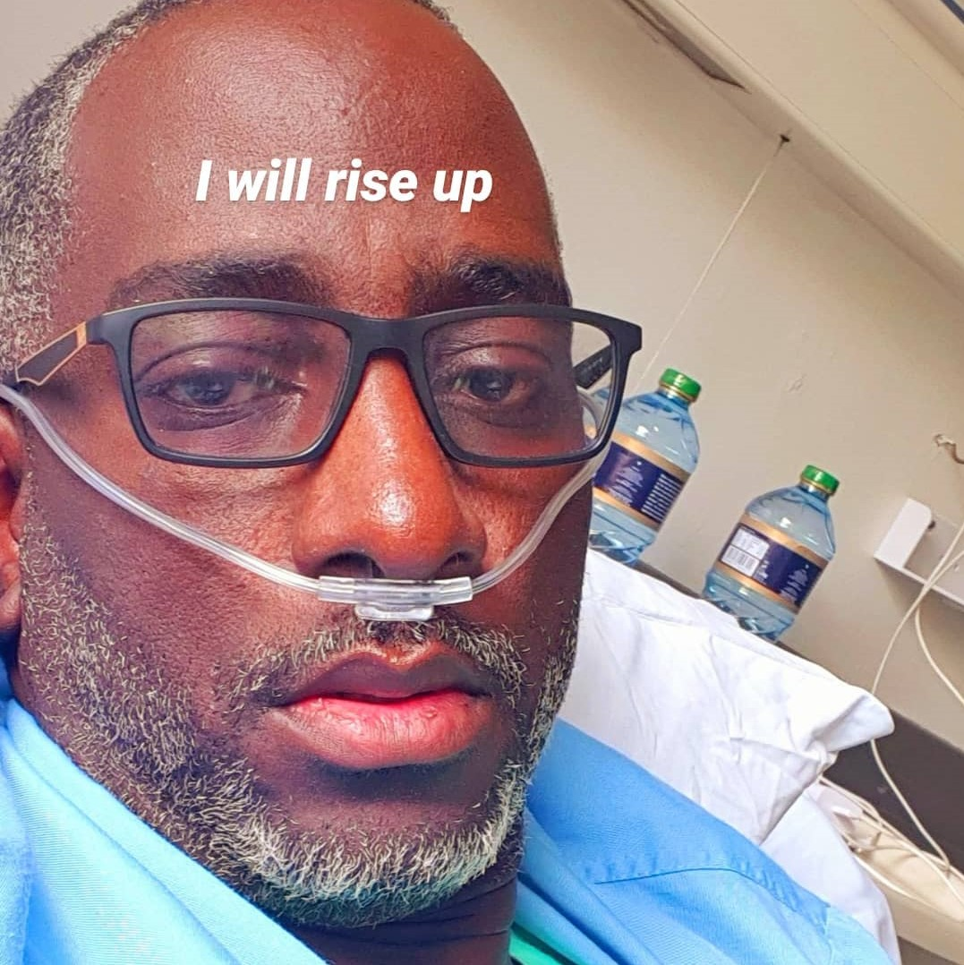 Robert Burale says he was never in ICU