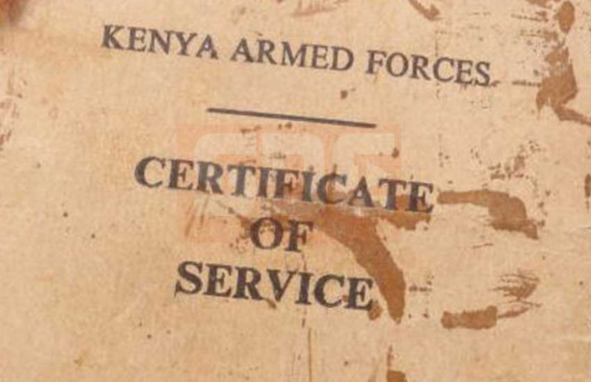 Why ex- Air Force Commander wants top KDF officials punished