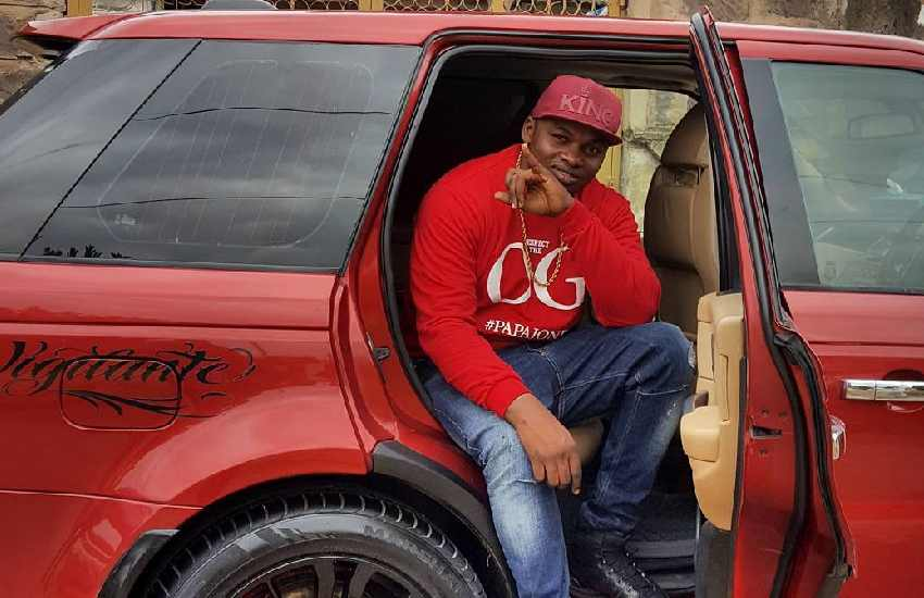 Khaligraph fuming, lashes out at 'hater' who keyed his Range Rover