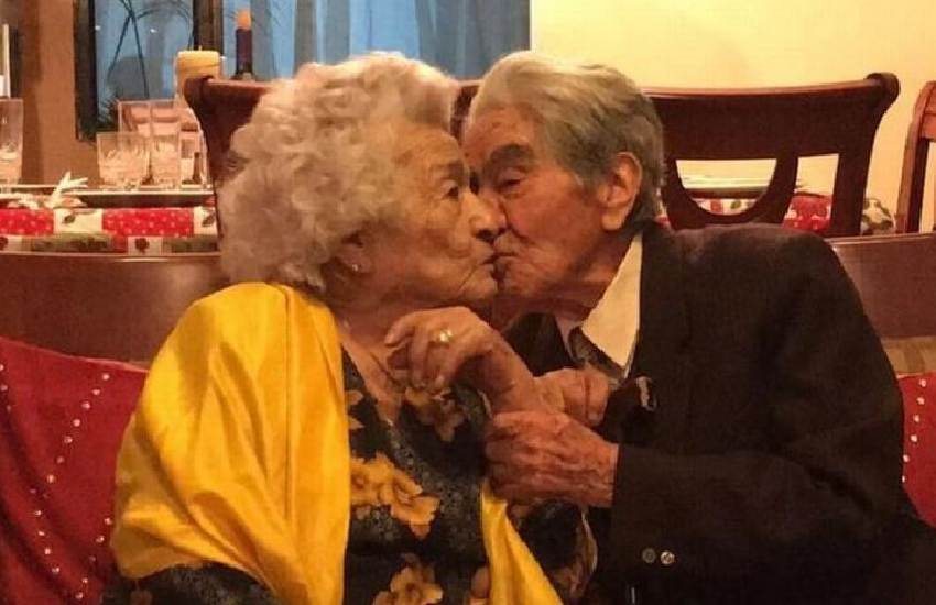 World's oldest married couple with combined age of 214 share relationship secrets