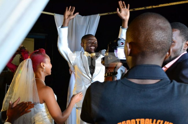 Comedian Mtumishi's wedding