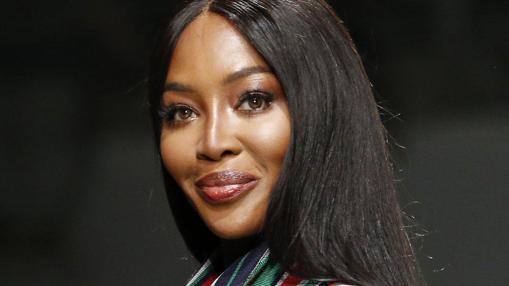 Model Naomi Campbell in Kenya