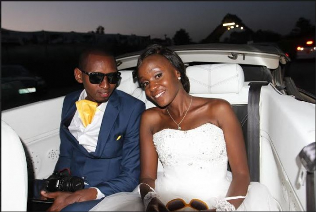 Pulse Editor Stevens Muendo marries Florence
